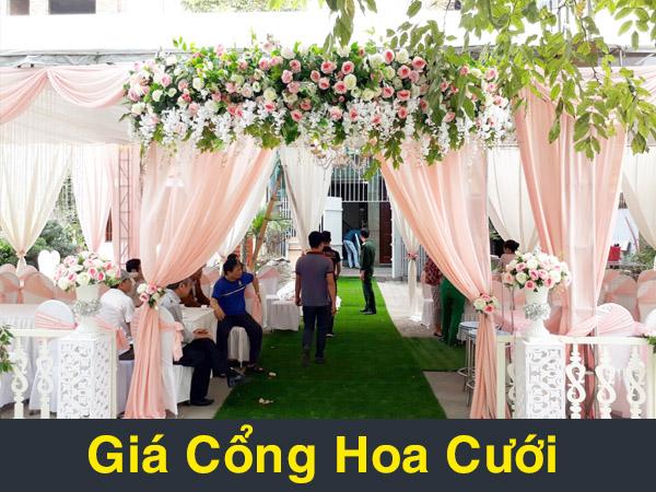 giá cổng hoa cưới