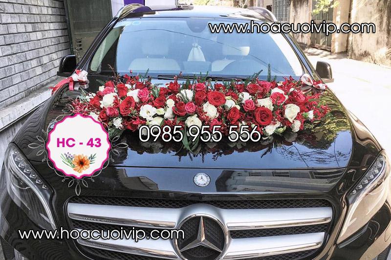 mẫu hoa xe cưới