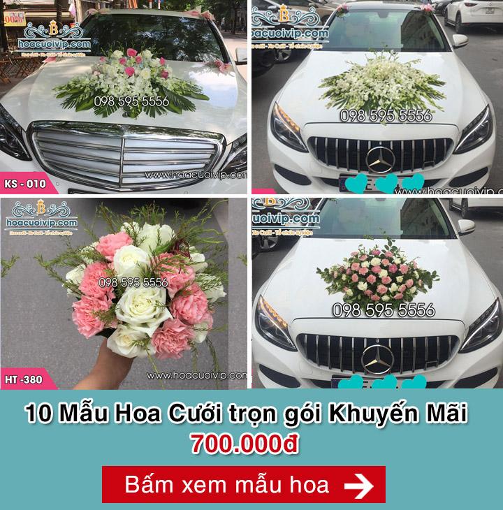 hoa cưới trọn bộ 700k