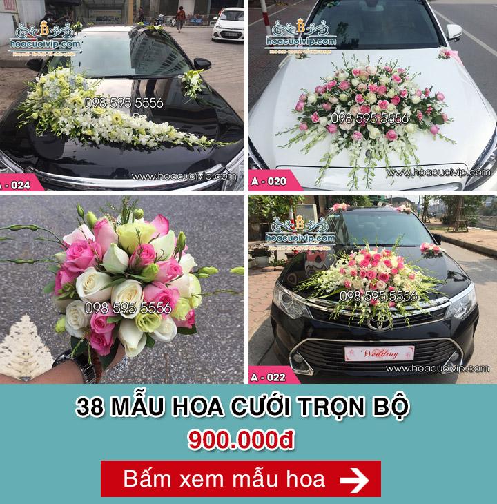 hoa cưới trọn bộ
