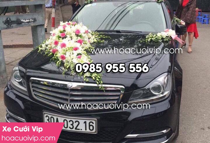 Thuê xe cưới mercedes C250 đen 2014