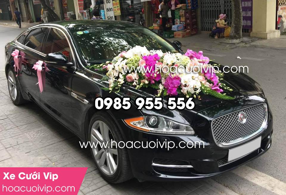 thuê xe cưới Jaguar XJL 3.0 đen