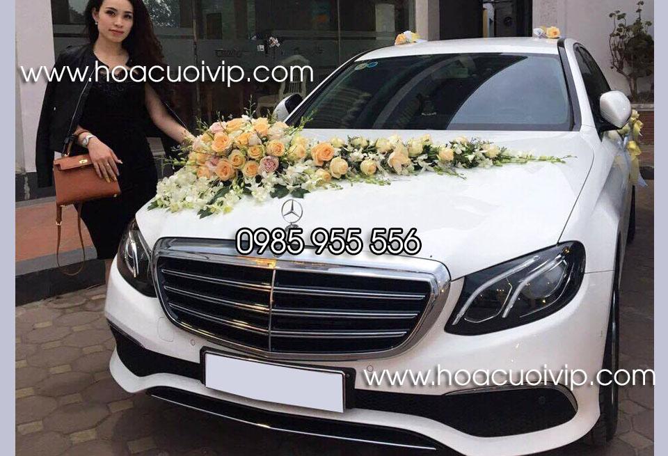 xe cưới mercedes E300 2017 trắng