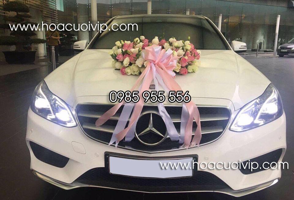 xe cưới mercedes E400 trắng 2015