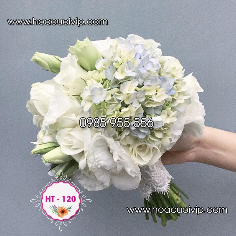 hoa tay cô dâu