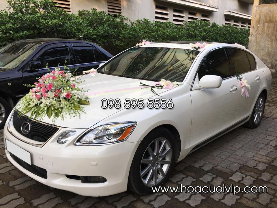 thuê xe cưới Lexus GS350 trắng