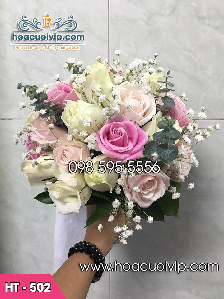 Hoa cưới cầm tay