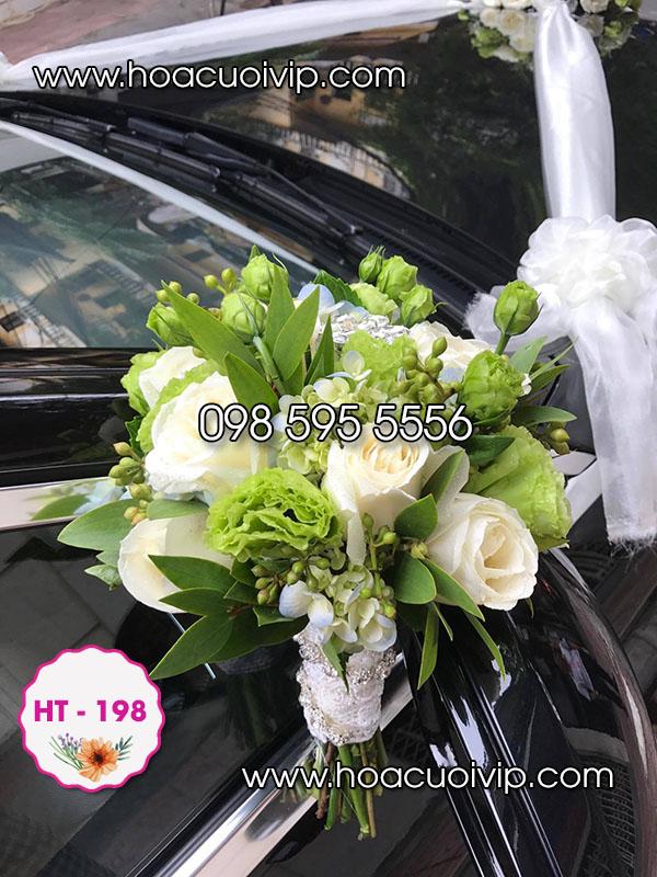 hoa cưới cô dau