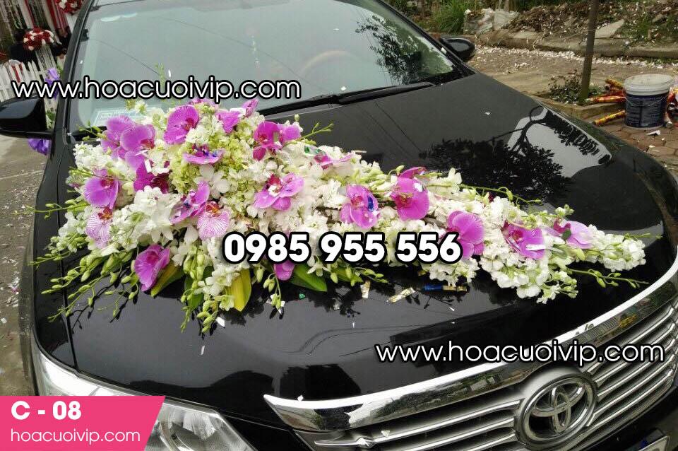 Hoa xe cưới đẹp hà nội