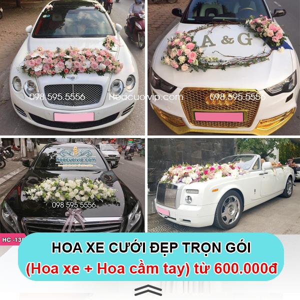 Hoa xe cưới vip