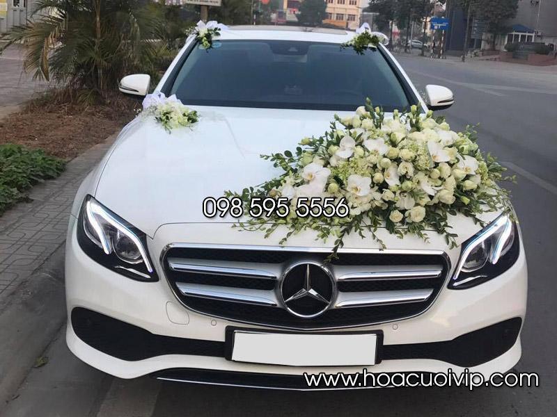 thuê xe cưới mercedes e250 2017 trắng