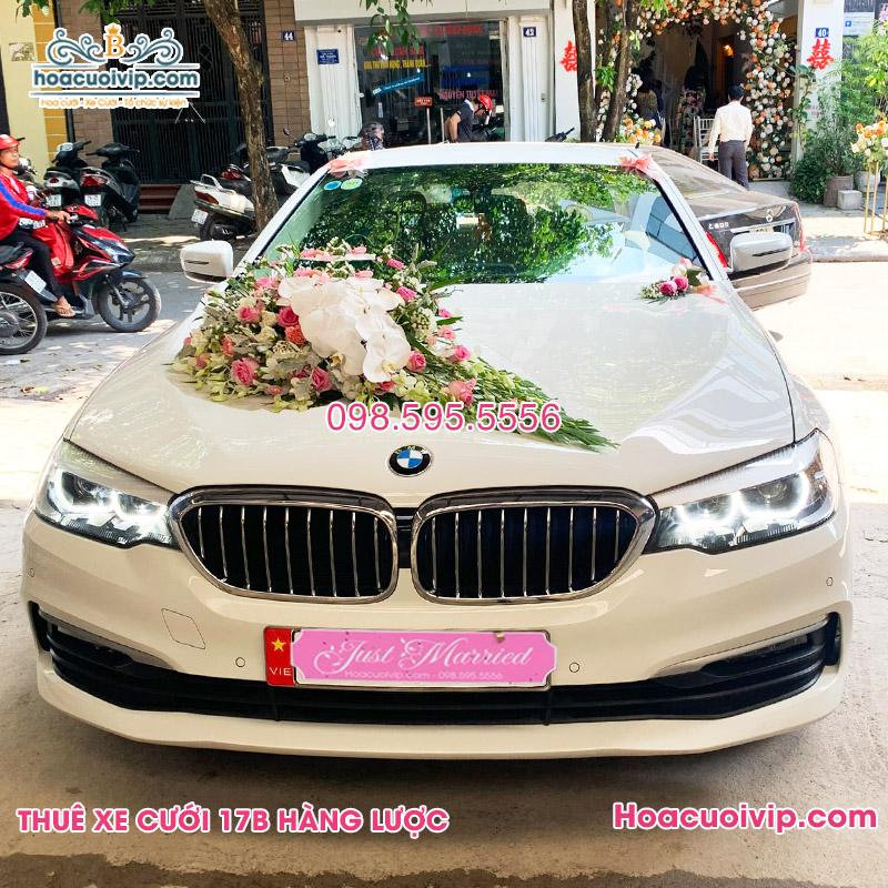Thuê xe cưới BMW 520i 2020 màu trắng
