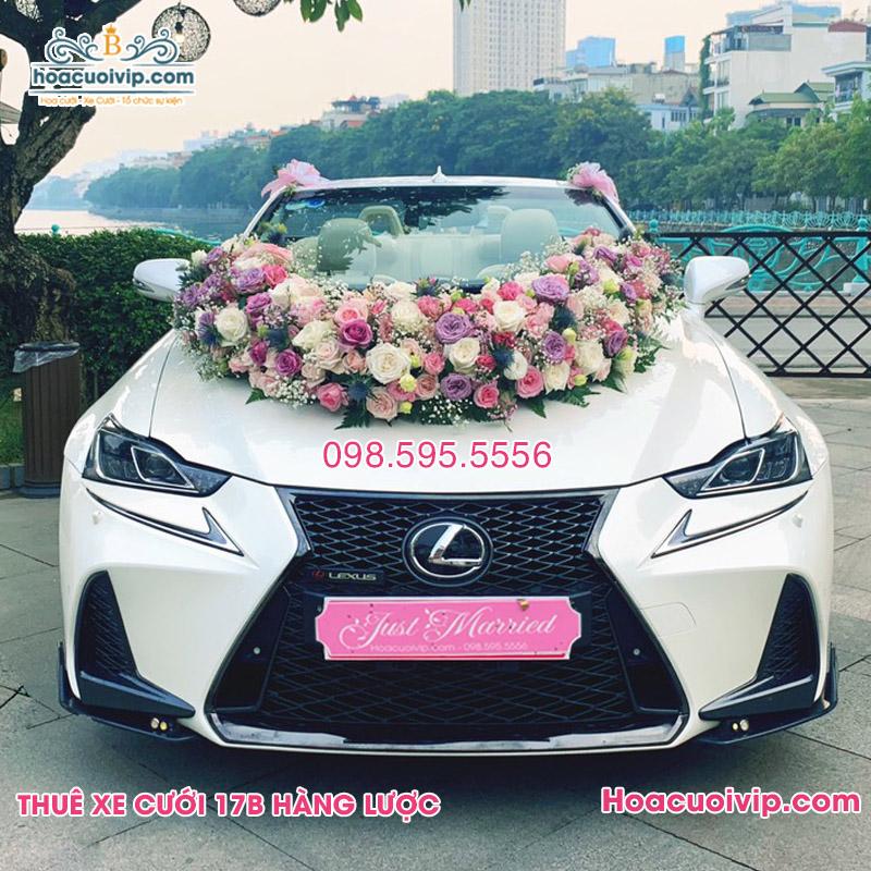 Thuê xe cưới Lexus RS250 mui trần