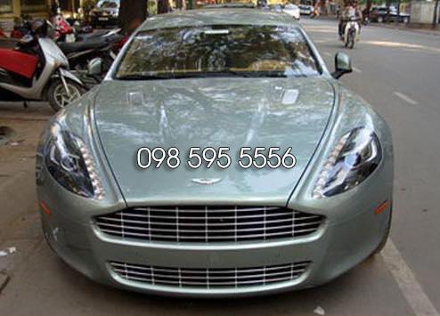 Xe Cưới Aston Martin Rapide