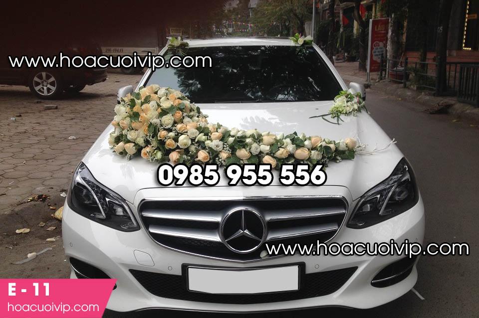 hoa xe cưới tại hà nội
