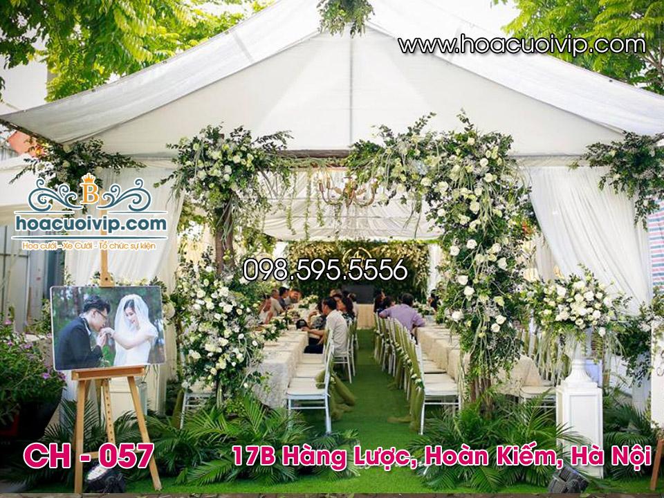 cổng hoa cưới đẹp