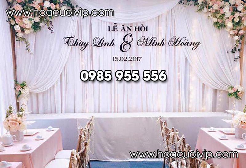 phông backdrop cưới hỏi