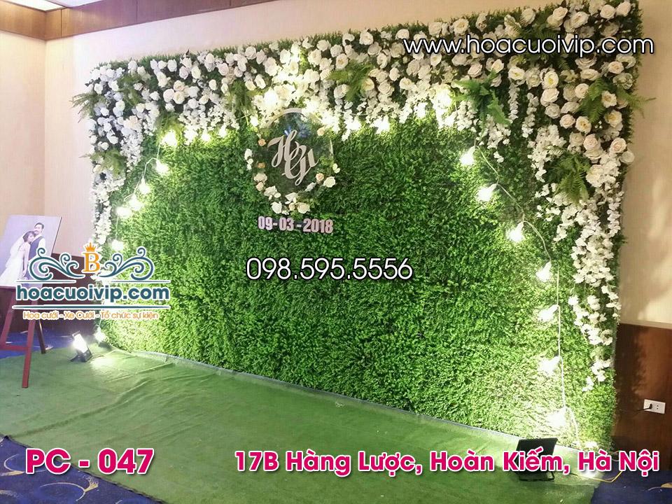 backdrop cưới đẹp
