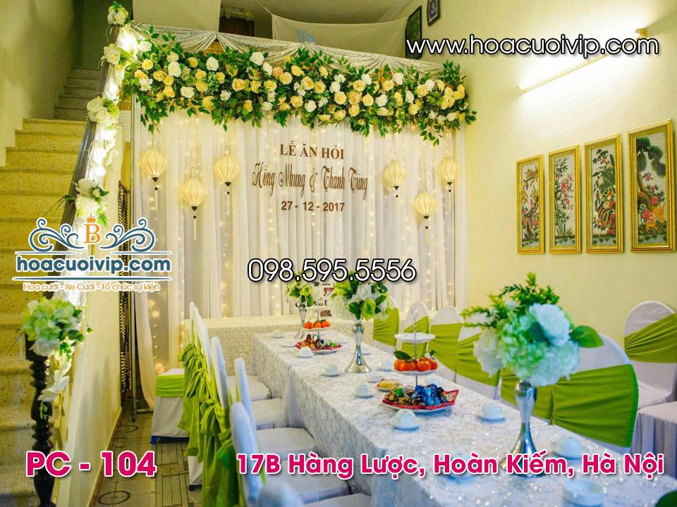 thuê phông cưới