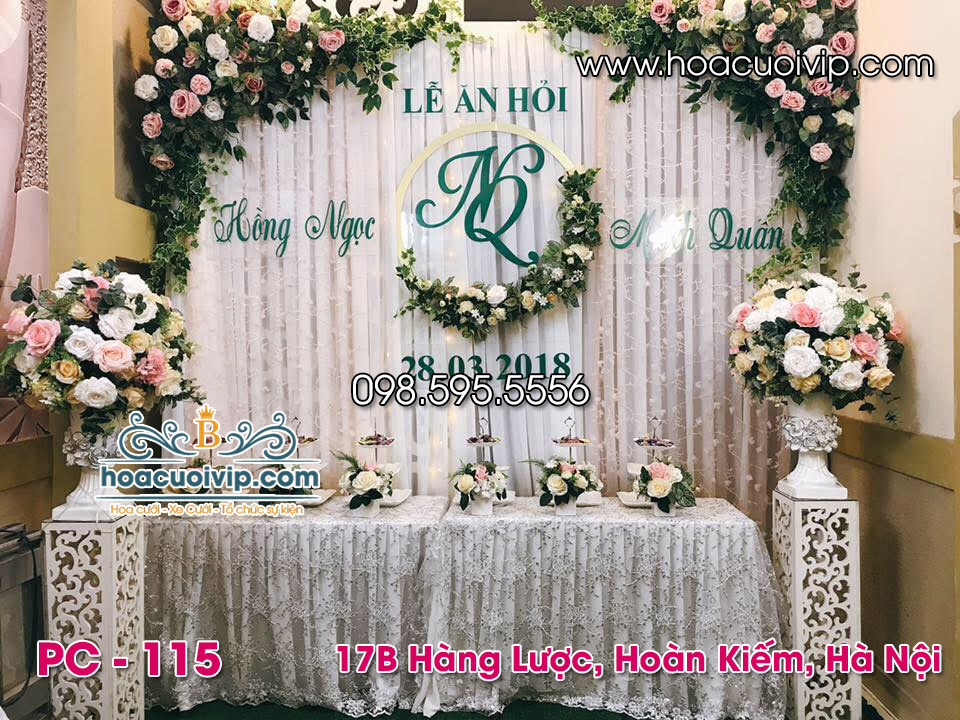 phông cưới