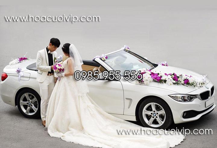 thuê xe cưới bmw 420i mui trần