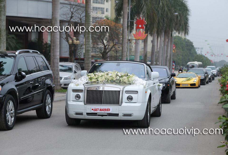 thuê xe cưới rolls royce