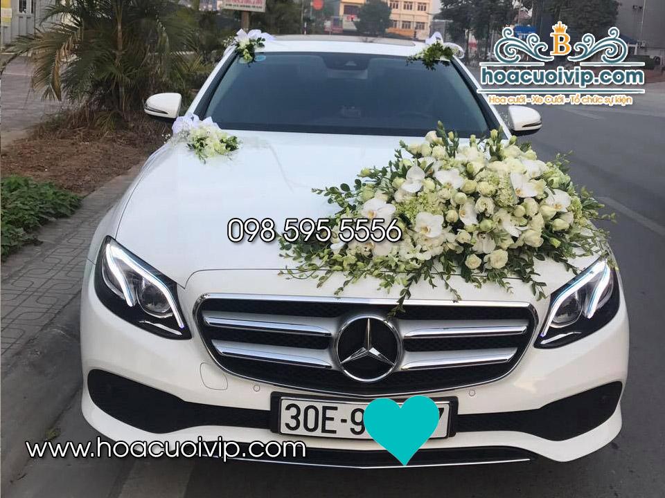 thuê xe cưới mercedes E300 2017 màu trắng