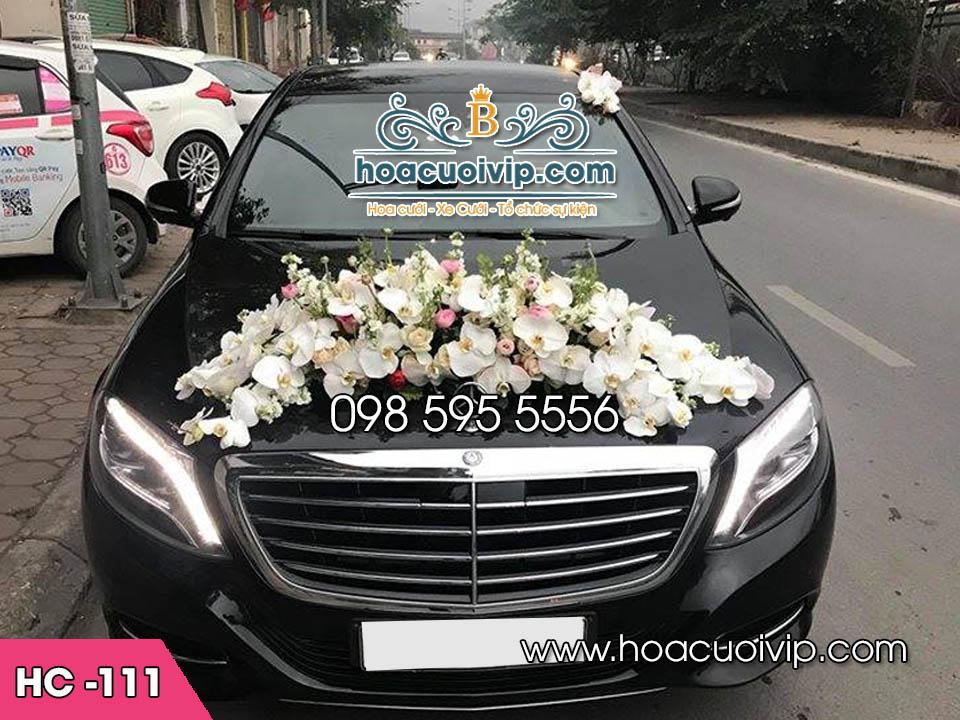 trang trí xe hoa