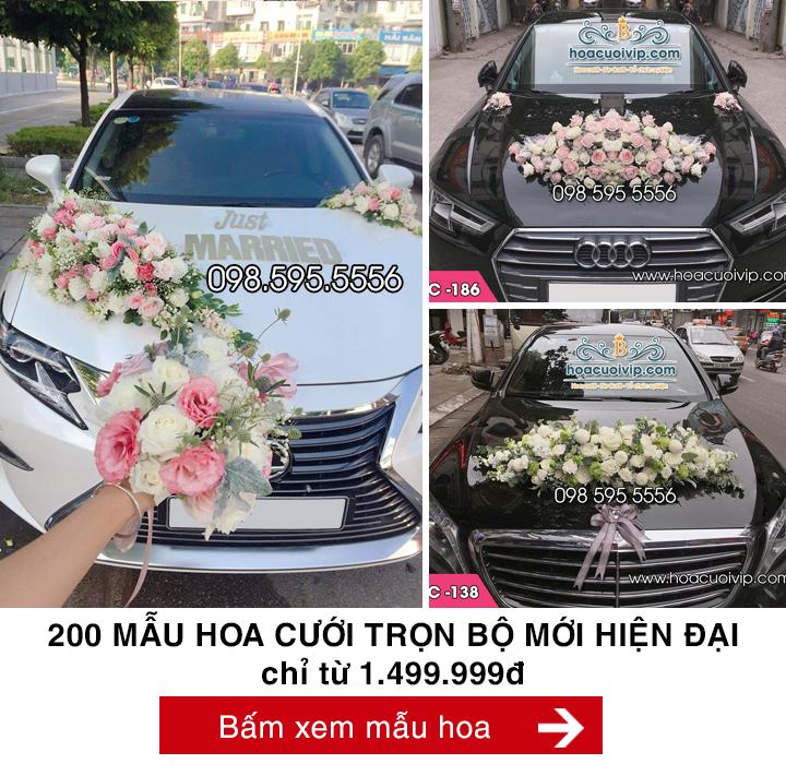 hoa cưới trọn bộ 1499k
