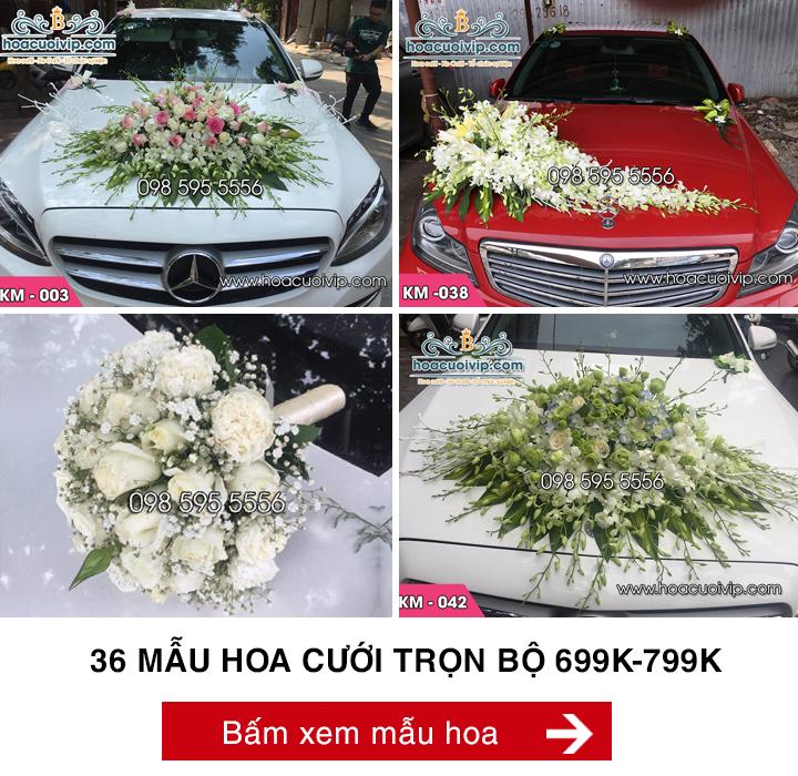 hoa cưới trọn bộ 799k