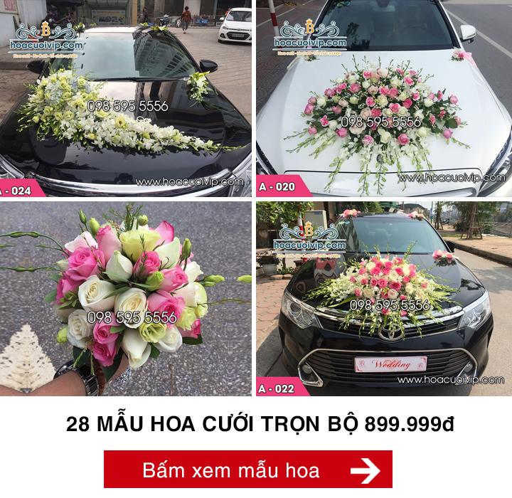 hoa cưới trọn bộ 899k
