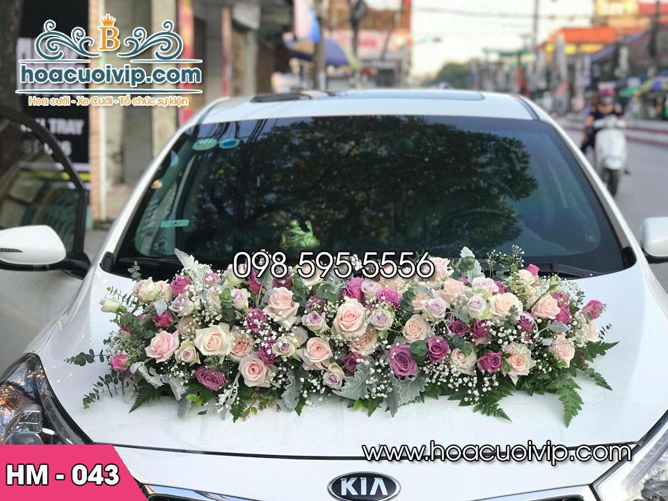 Hoa xe cưới HM-043