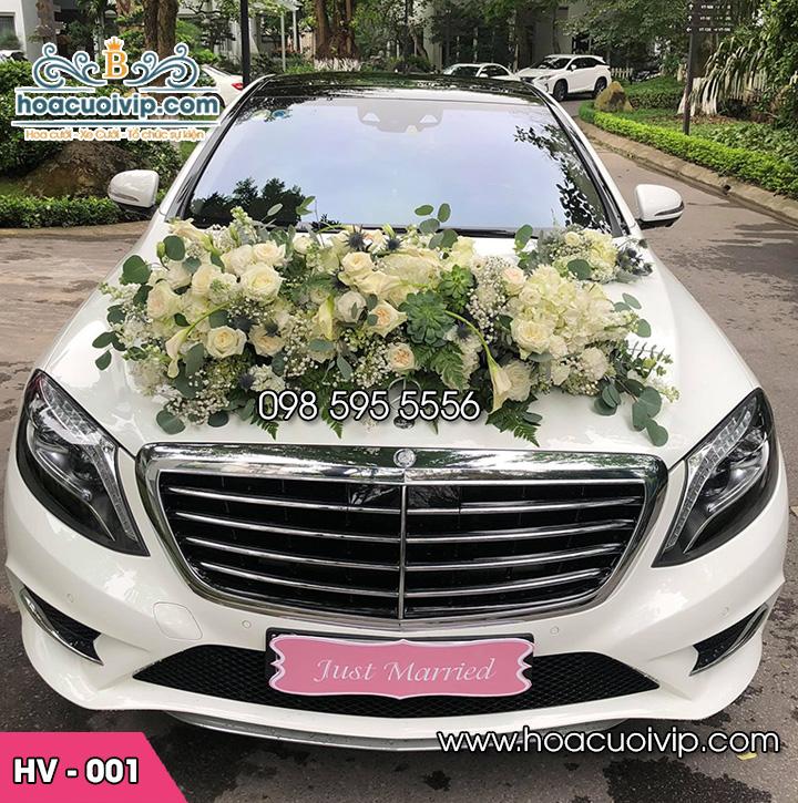 Hoa xe cưới mới HV-001