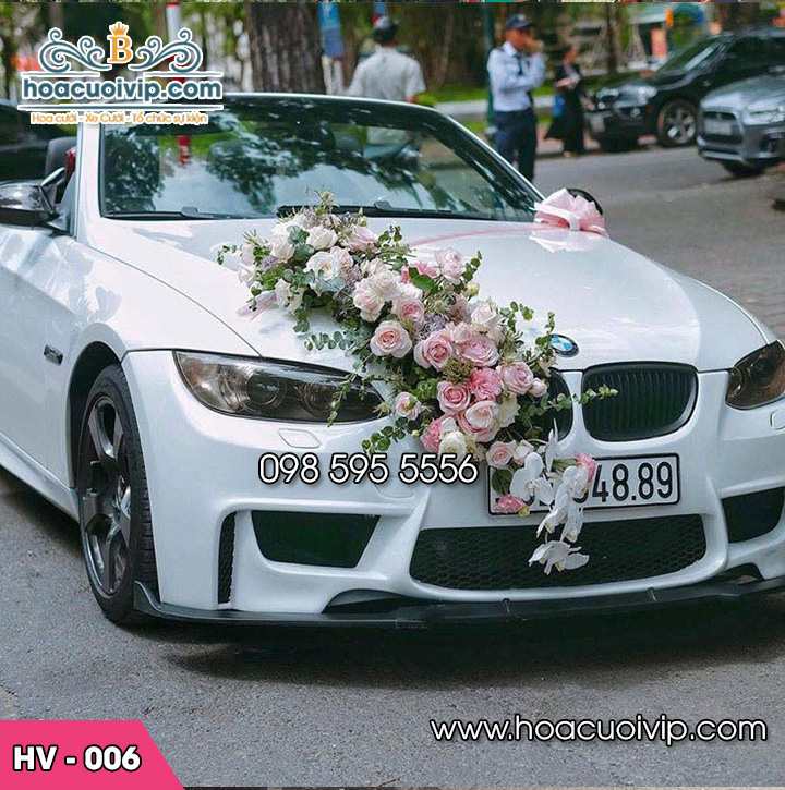 Hoa xe cưới mới HV-006