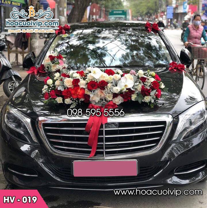 Hoa xe cưới đẹp HV-019