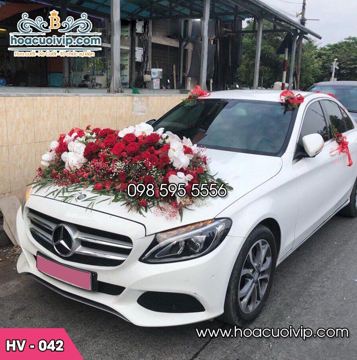 Hoa xe cưới mới HV-042